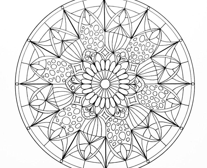 Mandalas Für Erwachsene Und Kinder Alle Mandalavorlagen